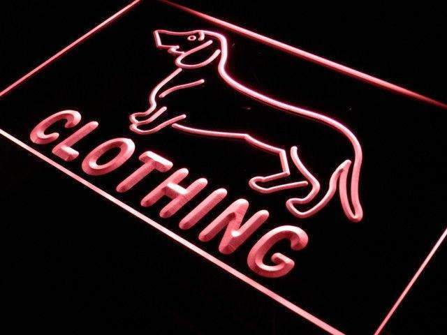 Dog Clothing Pet Shop LED Neon Light Sign - Way Up Gifts