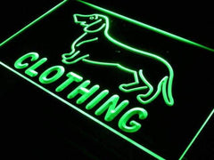 Dog Clothing Pet Shop LED Neon Light Sign