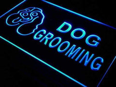 Dog Grooming LED Neon Light Sign