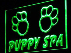 Dog Grooming Puppy Spa LED Neon Light Sign