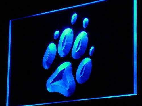 Dog Paw Print LED Neon Light Sign - Way Up Gifts