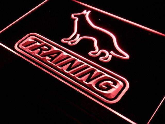 Dog Training LED Neon Light Sign - Way Up Gifts