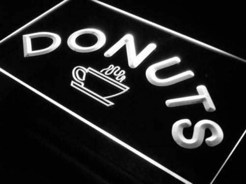 Donuts Coffee LED Neon Light Sign - Way Up Gifts