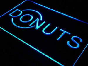 Donuts Neon Sign (LED)-Way Up Gifts