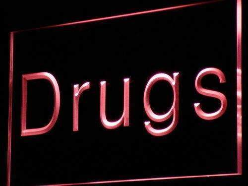 Drug Store LED Neon Light Sign - Way Up Gifts
