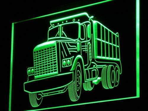Dump Truck LED Neon Light Sign - Way Up Gifts