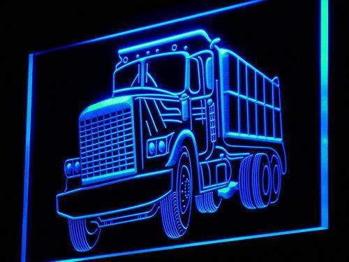 Dump Truck Neon Sign (LED)-Way Up Gifts