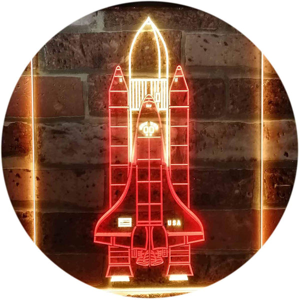 Astronaut Space Shuttle LED neon Light Sign - Way Up Gifts