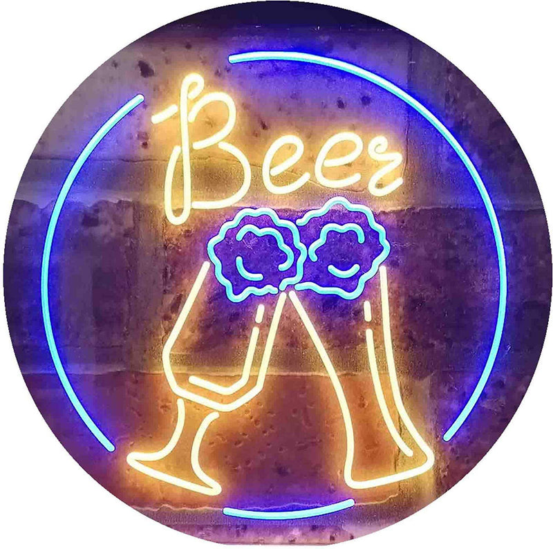 Bar Cheers Beer LED Neon Light Sign - Way Up Gifts