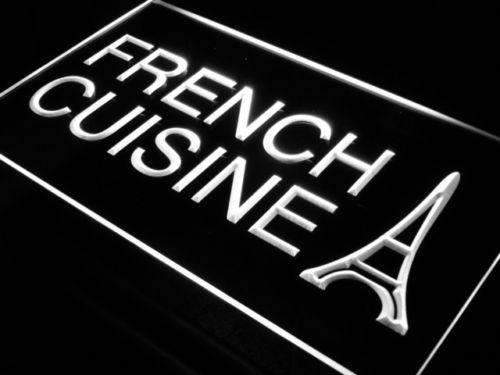 Eiffel Tower French Cuisine LED Neon Light Sign - Way Up Gifts