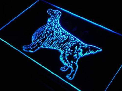 English Setter Neon Sign (LED)-Way Up Gifts