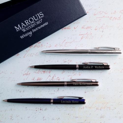 Engraved Ballpoint Pen - Waterford® Arcadia