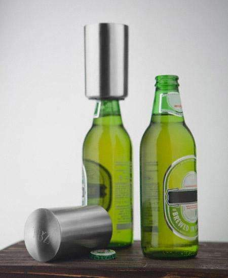 Engraved Stylish Bottle Opener  Personalized Gifts - Way Up Gifts