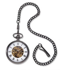 Personalized Modern Pocket Watch Keepsake