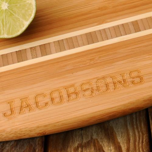 Engraved Beach Themed Bamboo Wood Cutting Board - Way Up Gifts