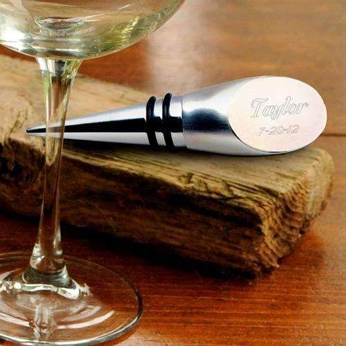 Engraved Wine Bottle Stopper Tool