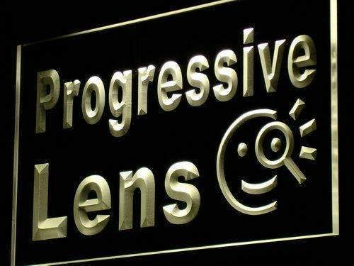 Eyeglasses Progressive Lens LED Neon Light Sign - Way Up Gifts