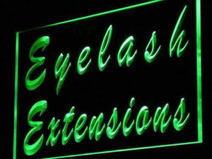 Eyelash Extensions Neon Sign (LED)-Way Up Gifts
