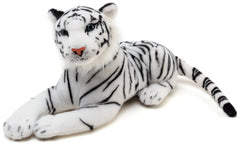 Big Stuffed Animal White Tiger Plush Toy