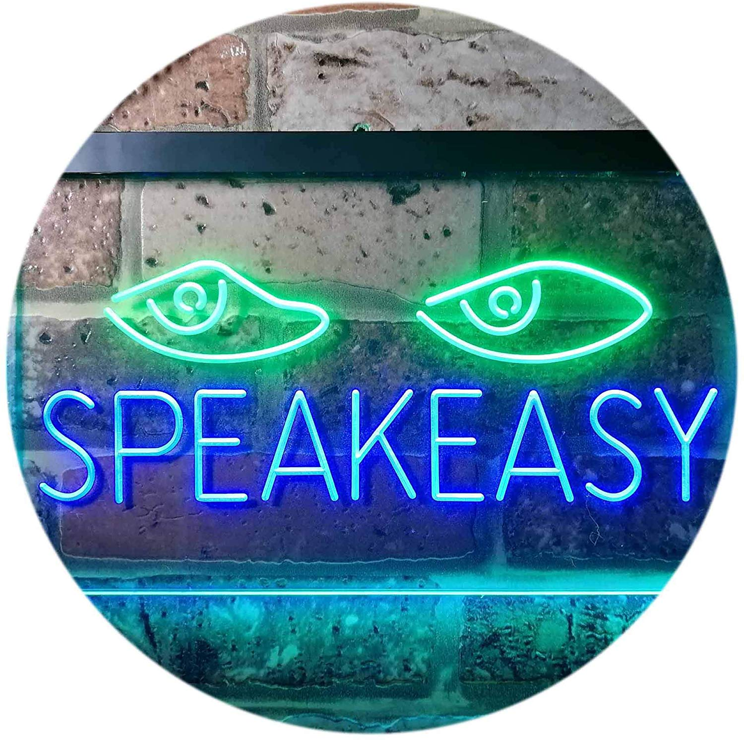 Speakeasy Bar LED Neon Light Sign | Way Up Gifts