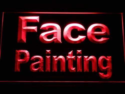Face Painting LED Neon Light Sign - Way Up Gifts