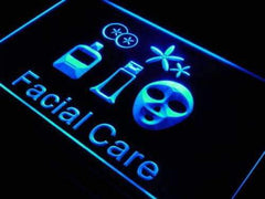Facial Care LED Neon Light Sign