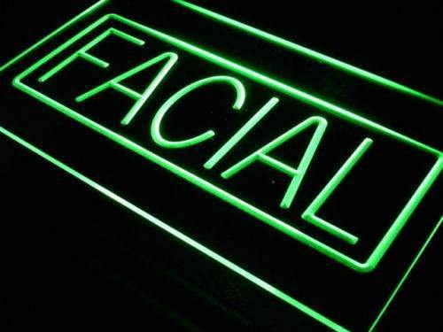 Facial LED Neon Light Sign - Way Up Gifts