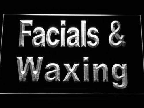 Facials Waxing LED Neon Light Sign - Way Up Gifts