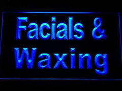 Facials Waxing LED Neon Light Sign