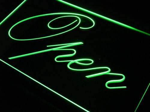 Fancy Open LED Neon Light Sign - Way Up Gifts