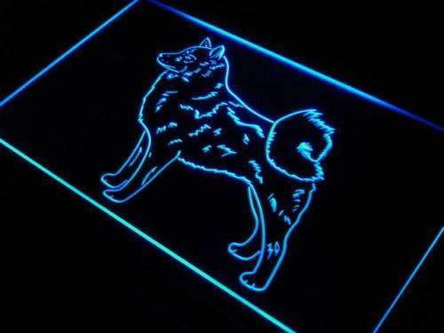 Finnish Spitz LED Neon Light Sign - Way Up Gifts