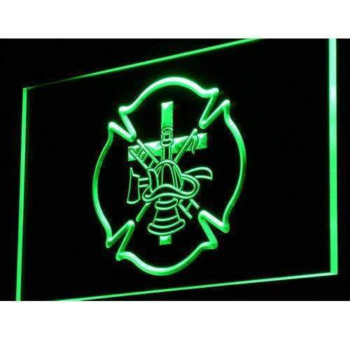 Firefighter Symbols LED Neon Light Sign - Way Up Gifts