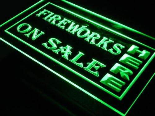 Fireworks On Sale Neon Sign (LED)-Way Up Gifts