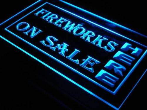 Fireworks On Sale LED Neon Light Sign - Way Up Gifts