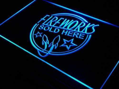 Fireworks Sold Here LED Neon Light Sign - Way Up Gifts