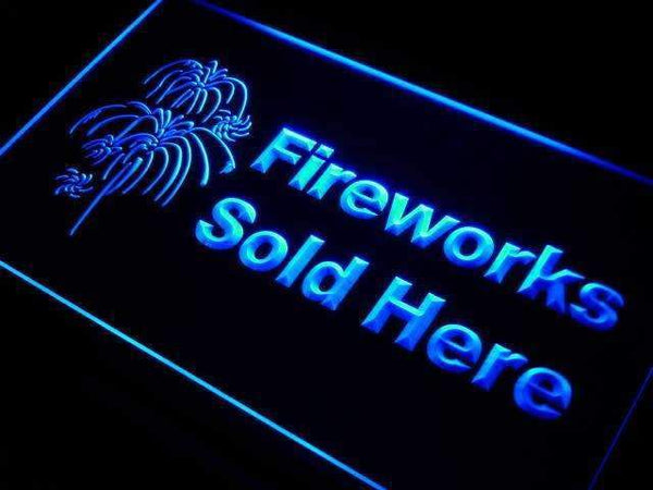 Fireworks Sold Here Store Neon Sign (LED)-Way Up Gifts