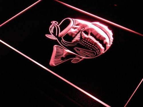 Fish Neon Sign (LED)-Way Up Gifts