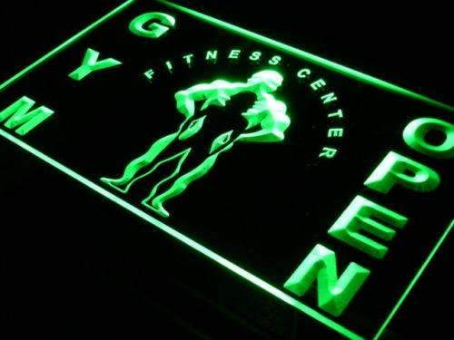Gym, Fitness, Yoga LED Neon Light Signs