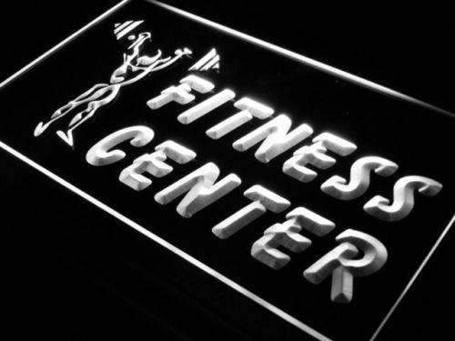 Fitness Center Weightlifting LED Neon Light Sign - Way Up Gifts