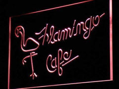 Flamingo Cafe LED Neon Light Sign