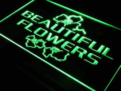 Florist Beautiful Flowers LED Neon Light Sign - Way Up Gifts