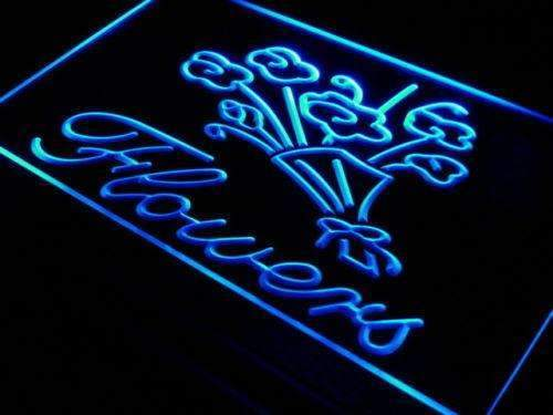 Florist Shop Flowers LED Neon Light Sign - Way Up Gifts