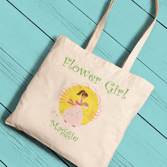 Personalized Flower Girl Perfect Tote