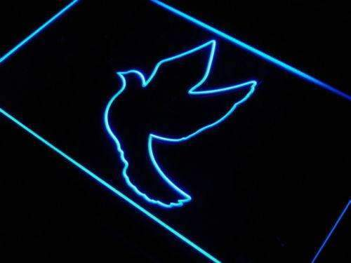 Flying Dove LED Neon Light Sign - Way Up Gifts