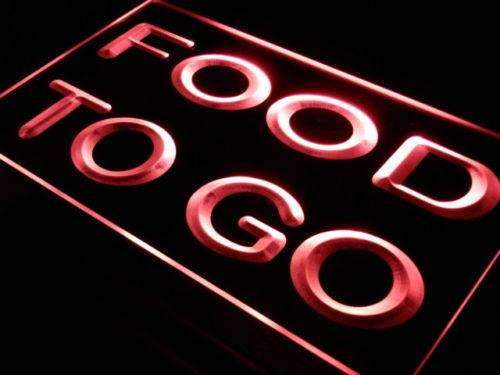 Food To Go LED Neon Light Sign  Business > LED Signs > Uncategorized Neon Signs - Way Up Gifts