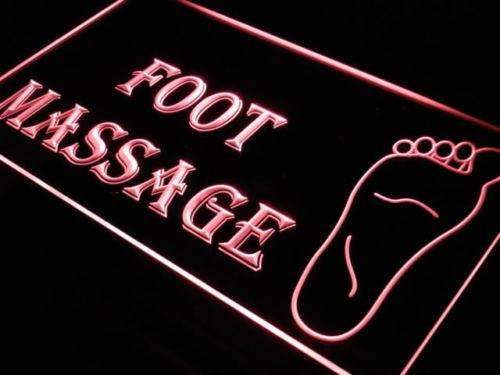 Foot Massage LED Neon Light Sign - Way Up Gifts