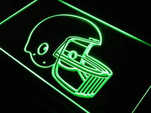Football Helmet LED Neon Light Sign - Way Up Gifts