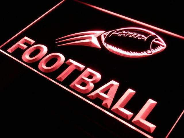 Football LED Neon Light Sign - Way Up Gifts