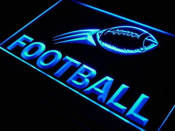 Football Neon Sign (LED)-Way Up Gifts