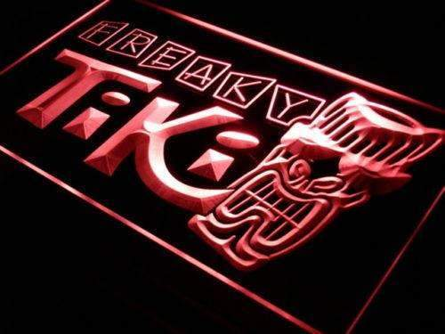 Freaky Tiki Bar LED Neon Light Sign - Way Up Gifts
